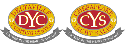 Deltaville Yachting Center and Chesapeake Yacht Sales Logo
