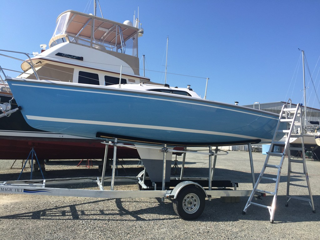 Brand New Catalina 22 Capri – Deltaville Yachting Center and
